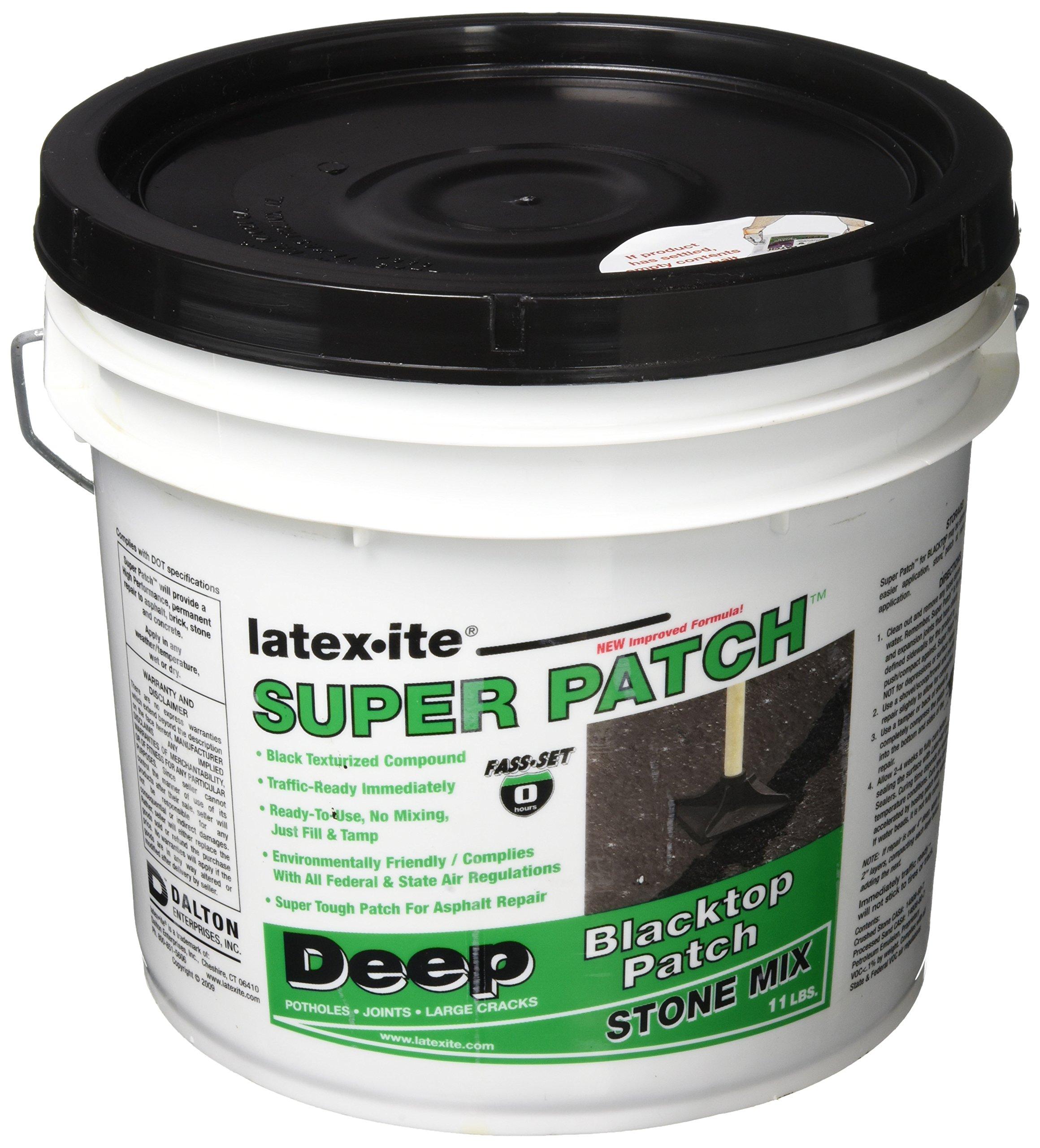 DALTON ENTERPRISES 31916 Super Deep Pavement Patch Stone Mix, 1 Gal