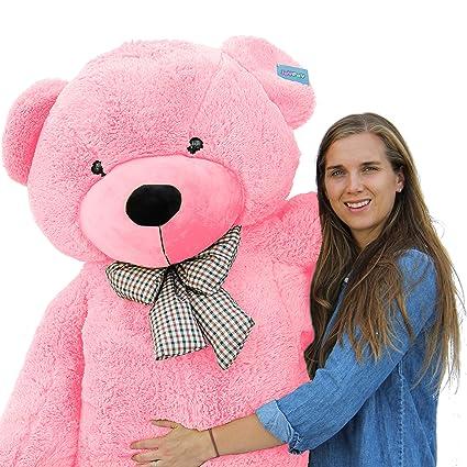 4b158740da7 Amazon.com  Joyfay Giant Pink Teddy Bear- Big