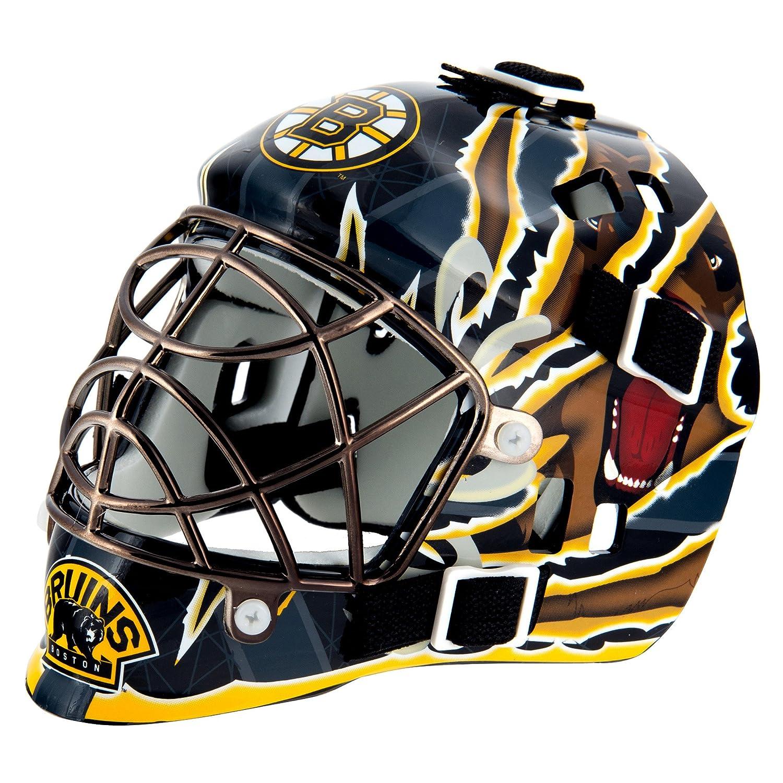 Franklin Sports Máscara pequeña de Portero con el Logo de la NHL, Unisex, 7784F03, Boston Bruins, Talla única