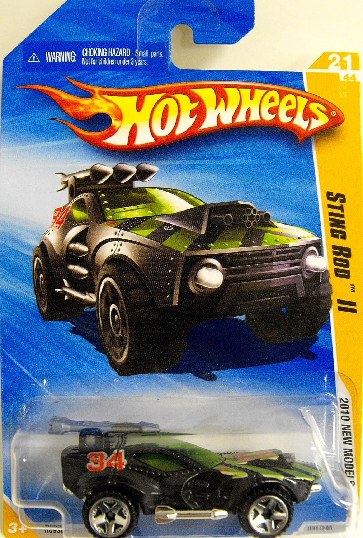 HOT WHEELS 2010 STING ROD II #21//44 NEW MODELS