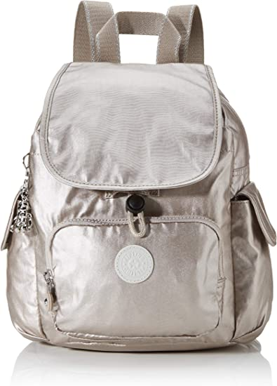 Agarrar Racional guerra  Amazon.com | Kipling City Pack S Mini Backpack Metallic Glow | Casual  Daypacks