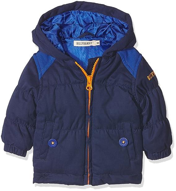 Billy Bandit V06016 Puffer Jacket, Abrigo para Bebés, Azul (Medieval Blue), 0-6 Meses: Amazon.es: Ropa y accesorios