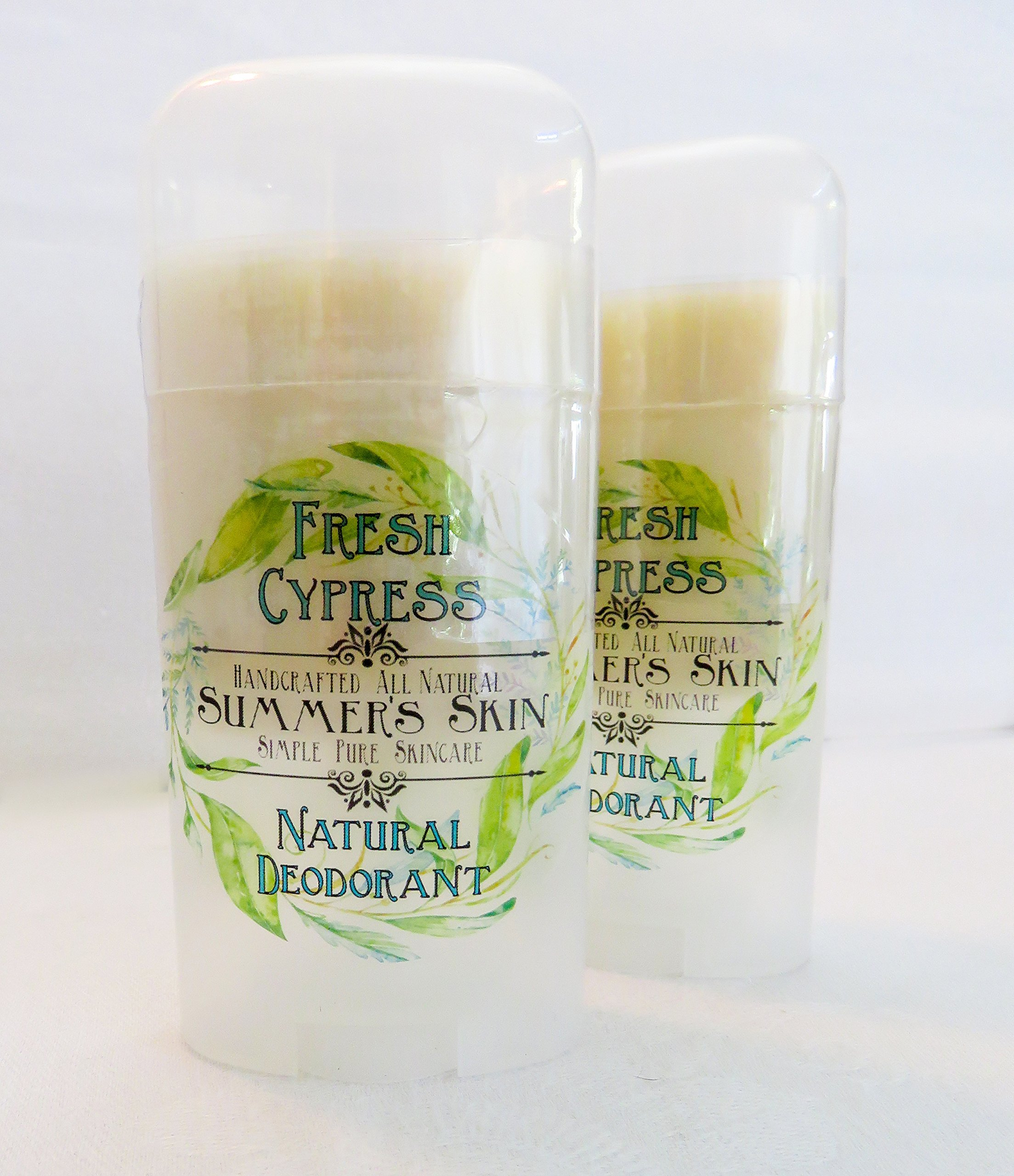 Fresh Cypress Natural Deodorant by Summer's Skin