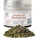 Taste of Bordeaux Seasoning | Non GMO Verified | Magnetic Tin | Artisan Seasoning | 0.3oz | Crafted In Small Batches By Gustus Vitae | #25