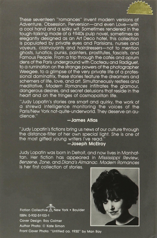 Slikovni rezultat za Judy Lopatin, Modern Romances,