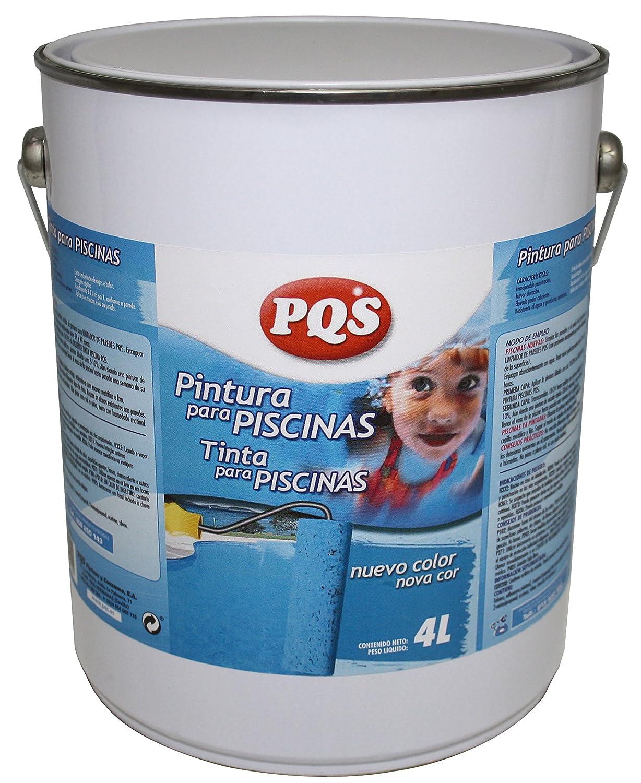 128213-PINTURA AZUL Piscinas al Clorocaucho. 4 Lt. (5 kg)- PQS