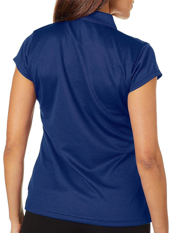 Tournament Collection Womens Mesh Short Sleeve Polo Shirt