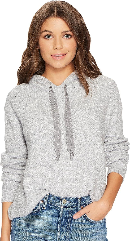 1.State Womens Hooded Crop Sweatshirt