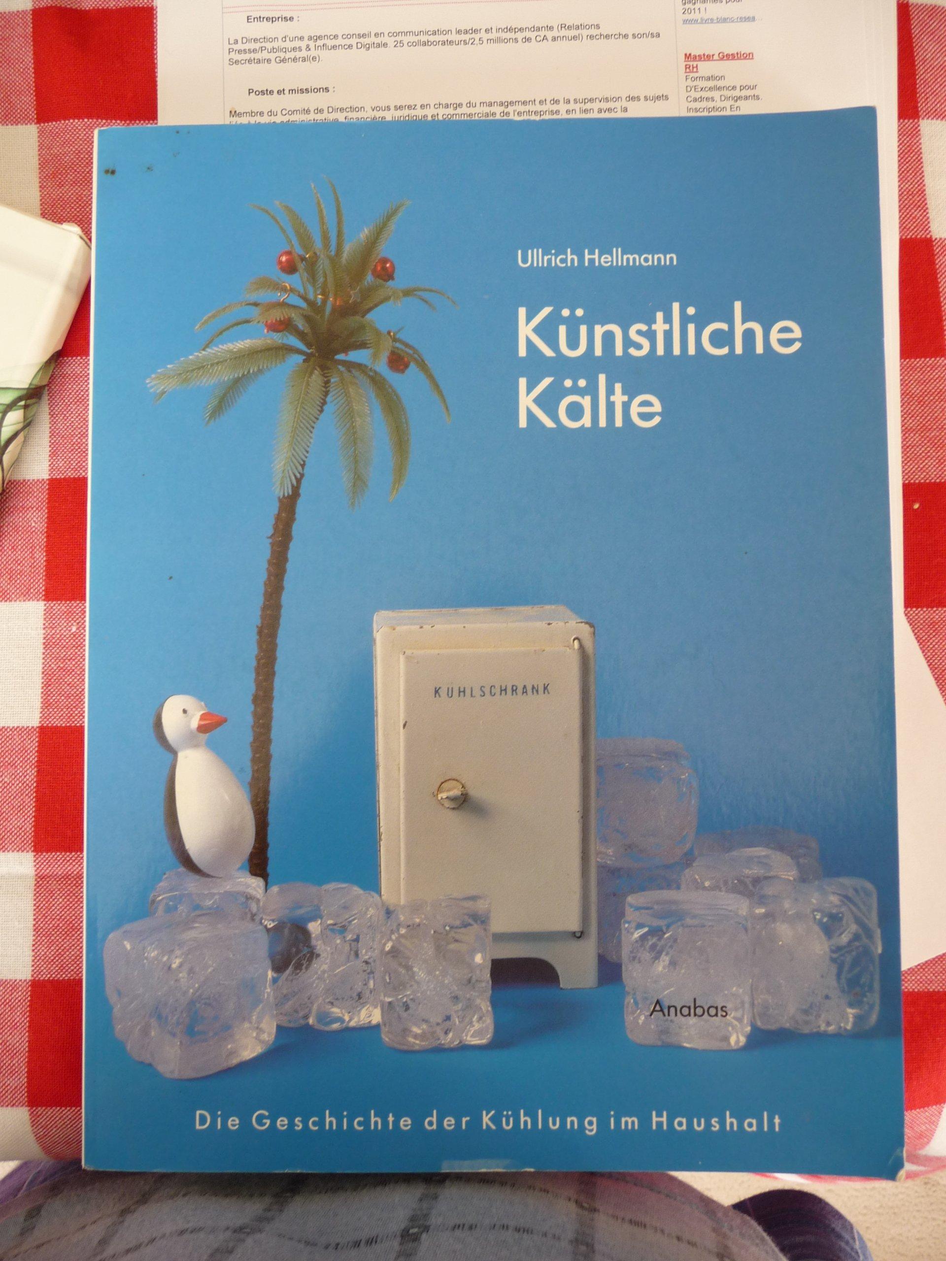 Künstliche Kälte: Die Geschichte der Kühlung im Haushalt (Werkbund-Archiv)