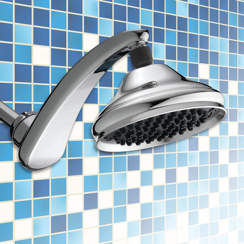 Waterpik RPB-173 2.5 GPM RainFall+ Shower Head, Chrome - Fixed ...