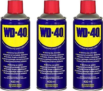 WD40 400ML (400 ML Pack 3 unidades): Amazon.es: Bricolaje y ...