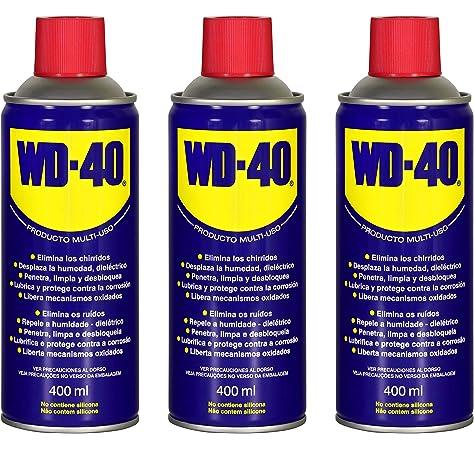 WD40 200 ML (200 ML Pack 3 unidades): Amazon.es: Bricolaje y herramientas