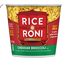 Deals on 12-Pack Rice a Roni Cups Cheddar Broccoli 2.11 Ounce