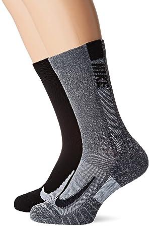 Nike U Nk Mltplier CRW 2pr Calcetines, Unisex Adulto