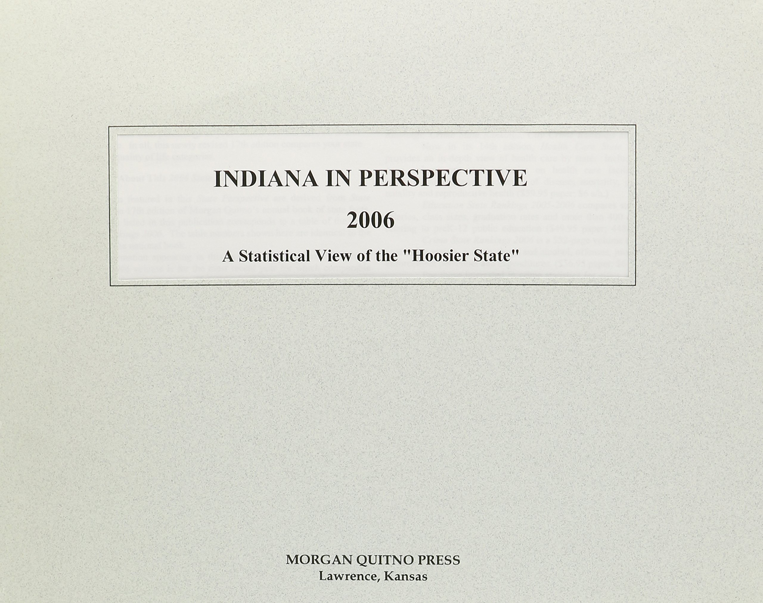 Indiana in Perspective 2006 pdf epub