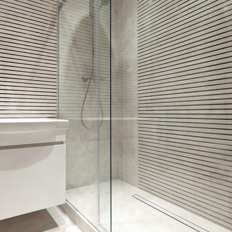 Vilstein© canaletta per doccia con sifone per pavimento e scarico ...