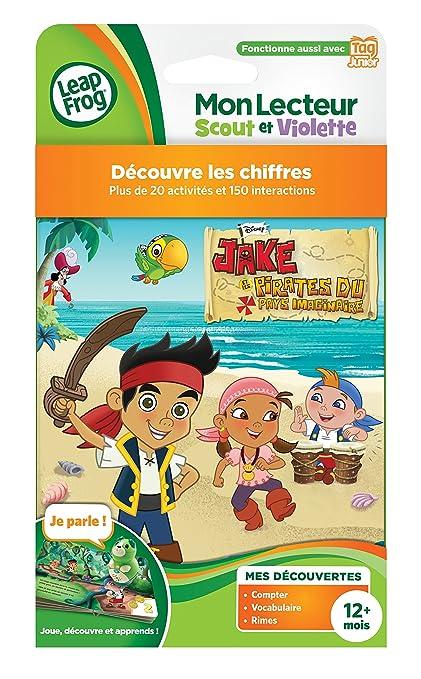 Leapfrog Jouet Premier Age Livre Lecteur Scout et Violette // Tag junior 82016 Cars 2