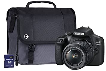 e9770874335 Canon EOS 2000D SLR Camera Kit with EF-S 18-55 mm IS: Amazon.co.uk ...