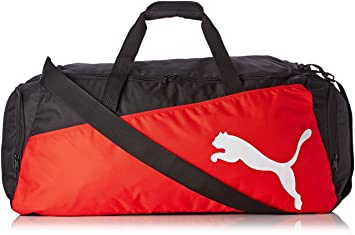 PUMA Pro Training Large Sports Bag Black black-puma red-White Size ... 65c624d4c2fd1