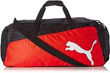 20f75e8ad8 PUMA Pro Training Large Sports Bag Black black-puma red-White Size ...