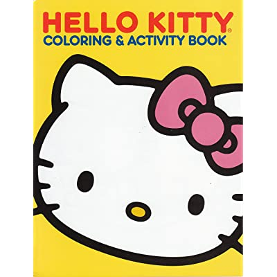 Hello Kitty Coloring & Activity Book 64 Pgs. (Art Cover Varies): Bendon: Toys & Games