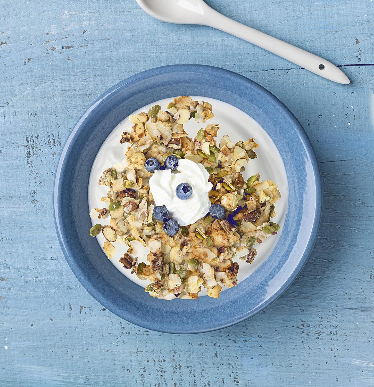 Keto Vanilla Blueberry Nut Granola Healthy