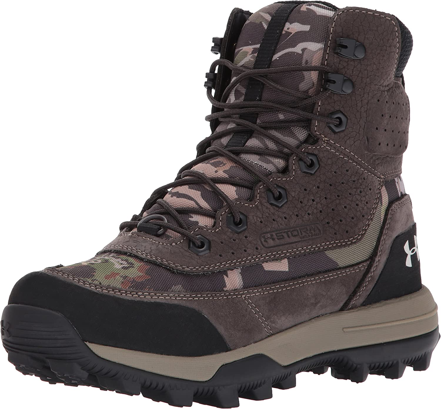 Under Armour Women's Speed Freek Bozeman 2.0 Ankle Boot, Ridge Reaper Camo Fo (943)/Cannon, 11