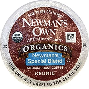 Newman's Own Special Blend Coffee, K-Cup Portion Pack for Keurig K-Cup Brewers (Pack of 120 Cups) - Packaging May Vary