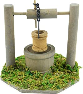 Touch of Nature Mini Fairy Garden Wishing Well, 3.5 by 3-Inch