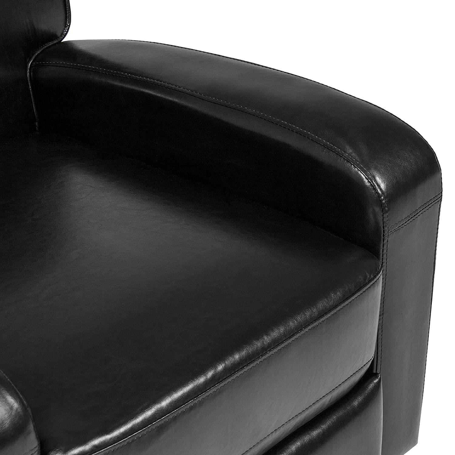 Amazon.com: Best Choice Products Padded PU Leather Home Theater Recliner  Chair: Home U0026 Kitchen