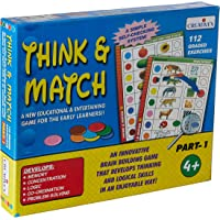 Creative Educational Aids P. Ltd. 1058 Think and Match - I