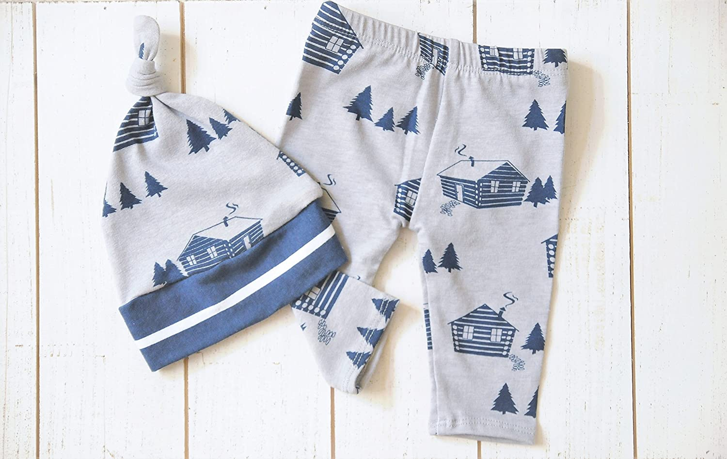Amazon.com Newborn Set, Winter Outfit, Baby Outfit, Cabin