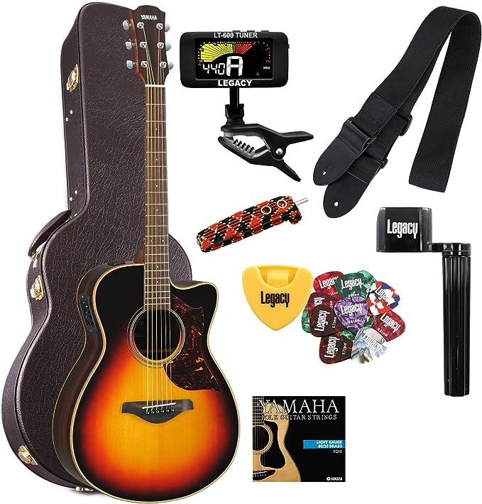 Yamaha ac1rvs Electroacústica guitarra en Vintage Sunburst con ...