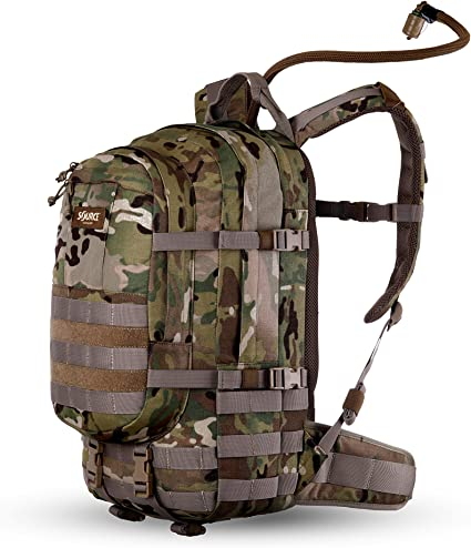 Source Tactical WLPS 3L Low Profile Hydration System Coyote Brown 100 oz