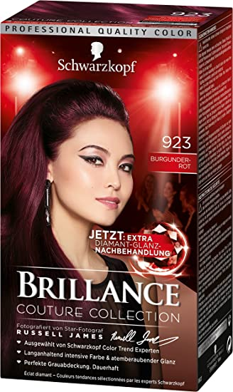 Schwarzkopf Brillance Intensiv Color Creme 923 Burgunderrot Stufe 3
