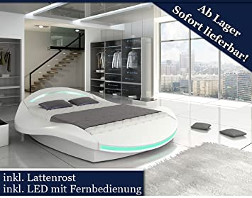 designer bett mit led beleuchtung. Black Bedroom Furniture Sets. Home Design Ideas