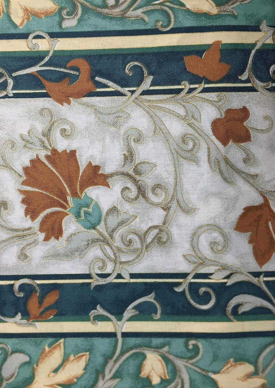 couvre-canap/é Tex family Tissu d/'ameublement multifonction couvre-lit tissu lierre vert grand foulard pour canap/é 2/places
