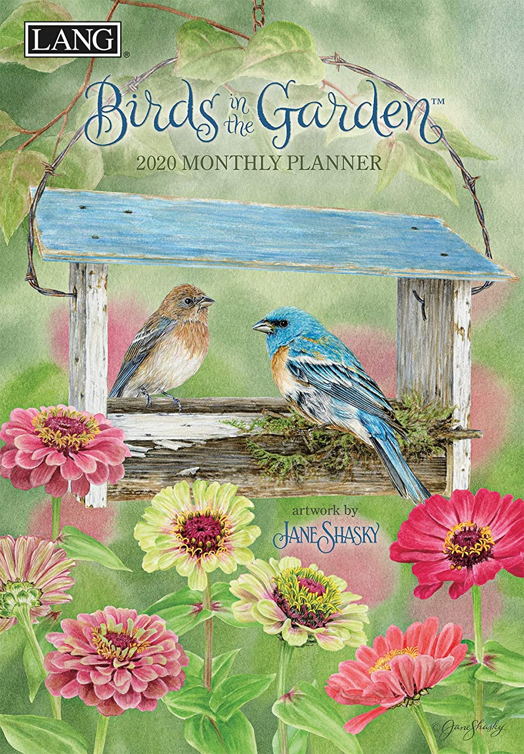 Lang Birds in The Garden 2020 Monthly Planner (20991012115)