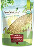 Food To Live Certified Organic Buckwheat Groats (Raw, Hulled, Non-GMO, Bulk) (1 Pound)