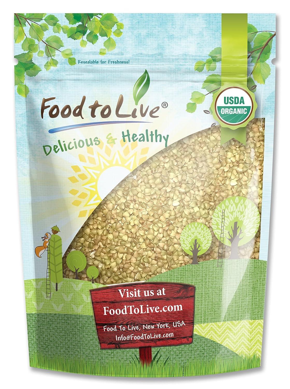 Food to Live Granos de Trigo Sarraceno o Alforfon Bio (Eco, Ecológico, crudo, sin OMG, Kosher) 1.4 Kg: Amazon.es: Alimentación y bebidas