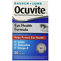 Bausch + Lomb Ocuvite Eye Vitamin and Mineral Supplement Eye Health Formula with...