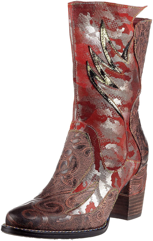 Rot (rot) Laura Vita Damen Cendrillon 13 Stiefeletten