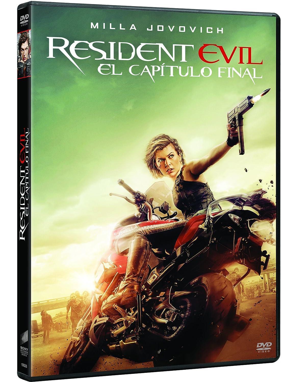 Resident Evil: El Capítulo Final [DVD]: Amazon.es: Milla Jovovich ...