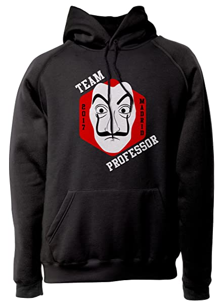 10258b2689789 LaMAGLIERIA Sweat Unisex La CASA De Papel - Team Professor - Sweat à  Capuche Séries TV Haus des Geldes  Amazon.fr  Vêtements et accessoires