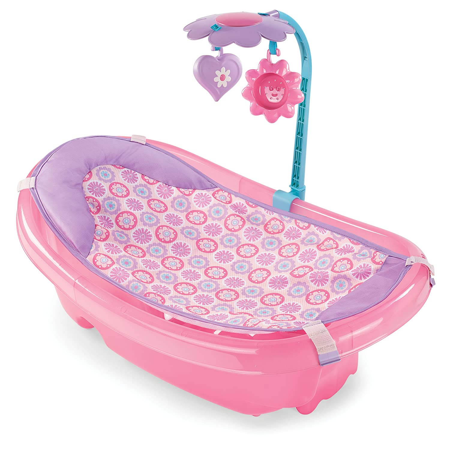 Amazon.com : Summer Infant Sparkle Fun Newborn-to-Toddler Baby Tub ...