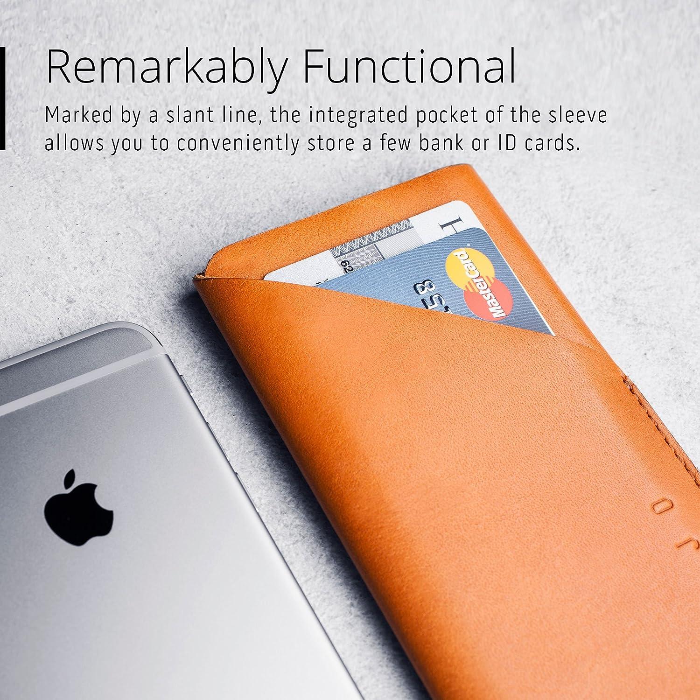 Amazon.com: Mujjo Wallet Sleeve Envuelto Super Slim Clean ...