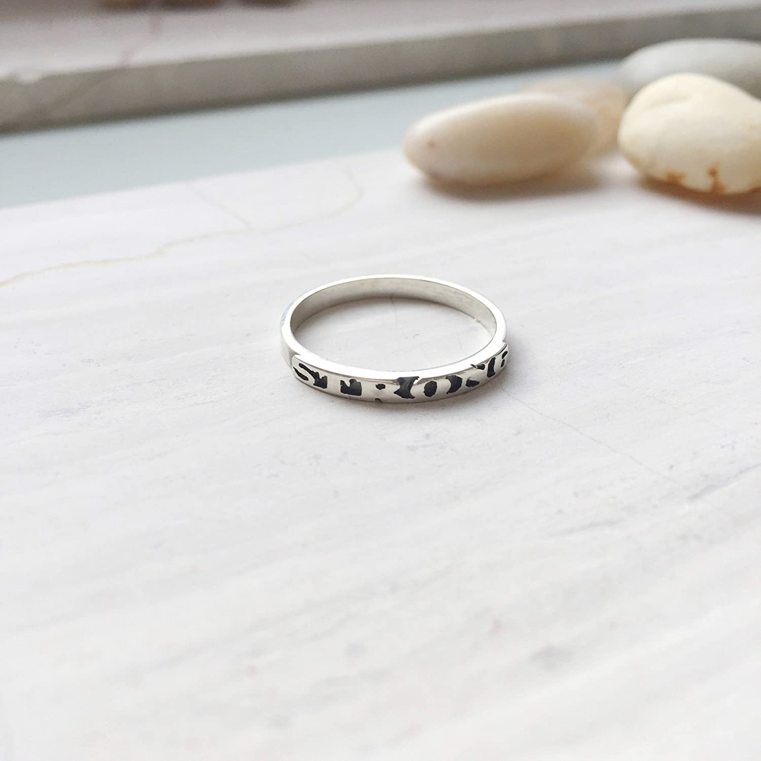 Sterling Silver Strong Ring