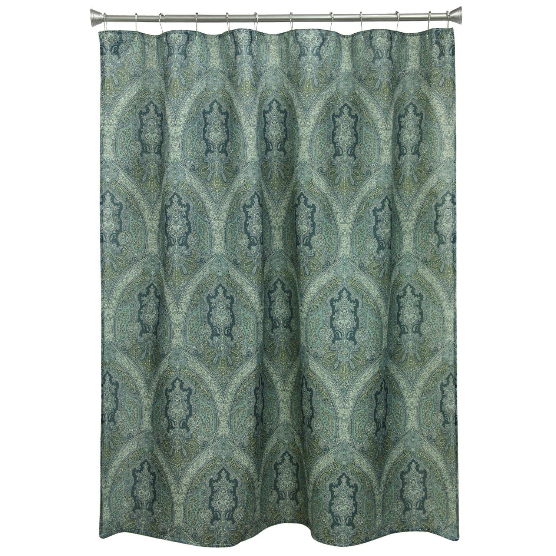 Bacova Guild Landon Damask Shower Curtain 10717