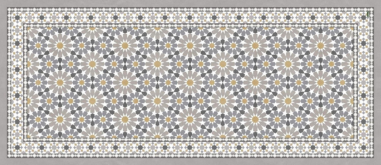 Vilber Nador du 01 78X180 Tapis en Vinyle Multicolore 78 x 180 x 0,22 cm