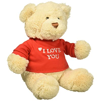 GUND I Love You Bear Single - Colors Will Vary: Toys & Games